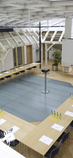 Tagungsraum im Dachgeschoss der Villa Esche - Konferenzbestuhlung